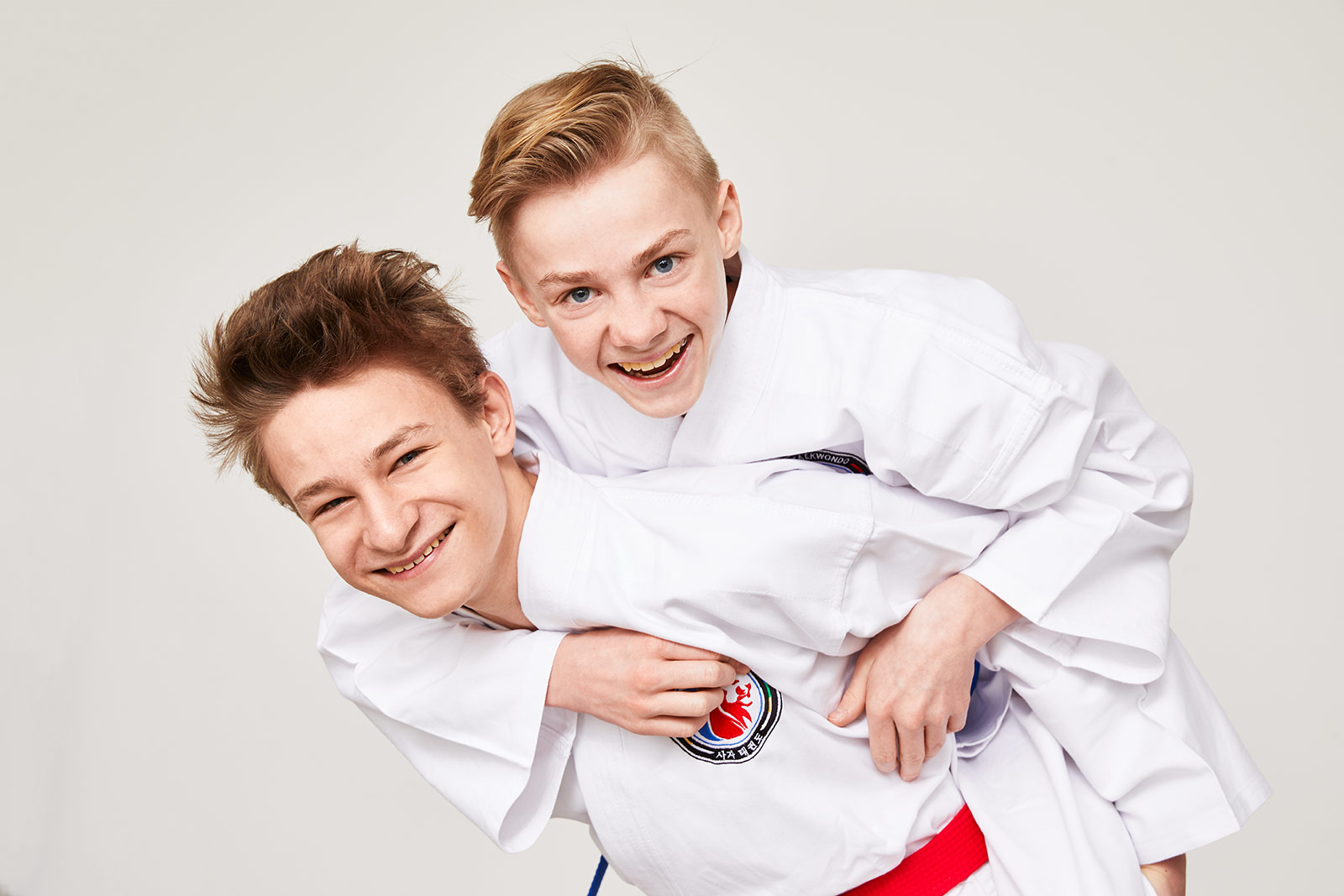 Taekwondo-Schüler
