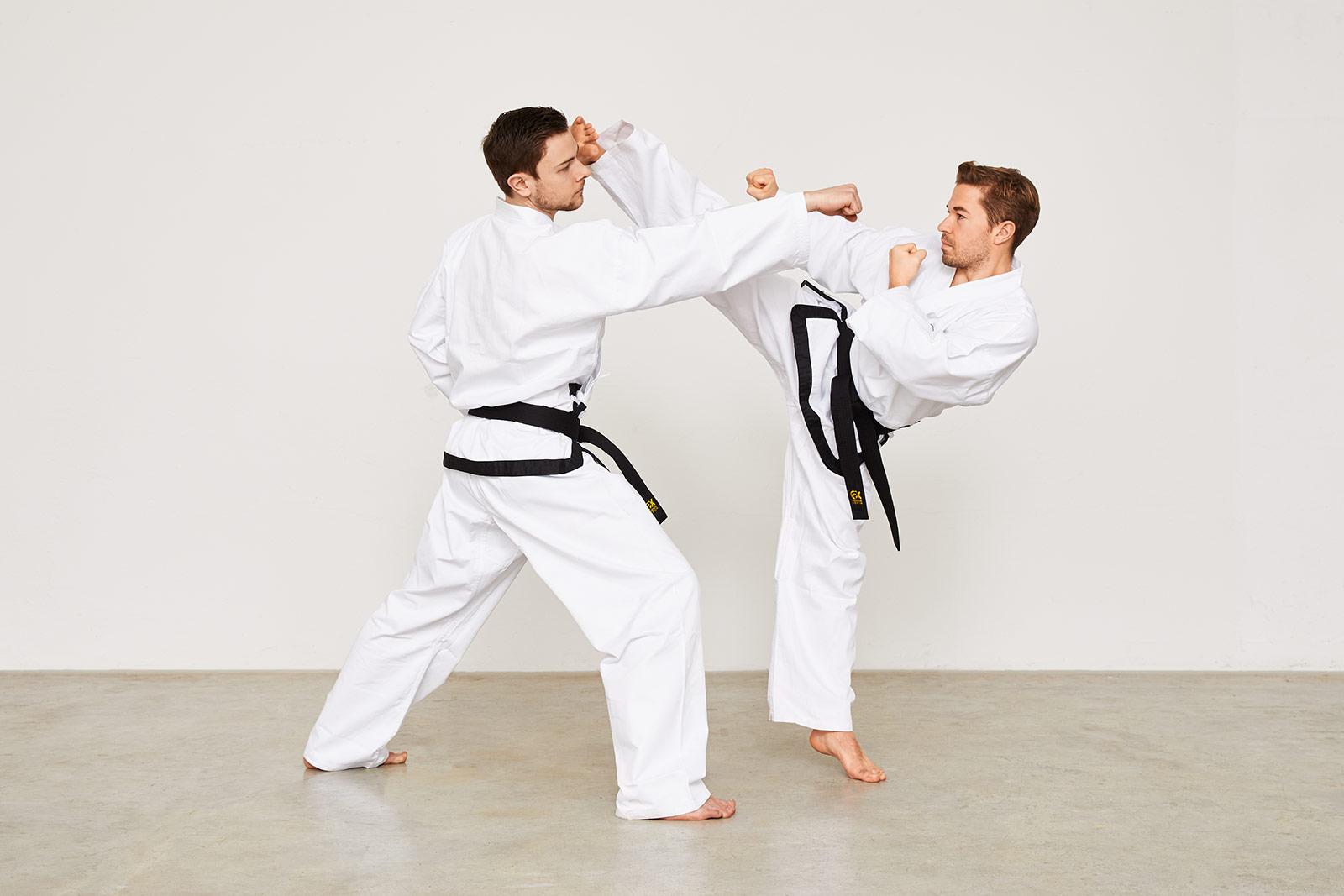 Taekwondo Einschritt-Kampf