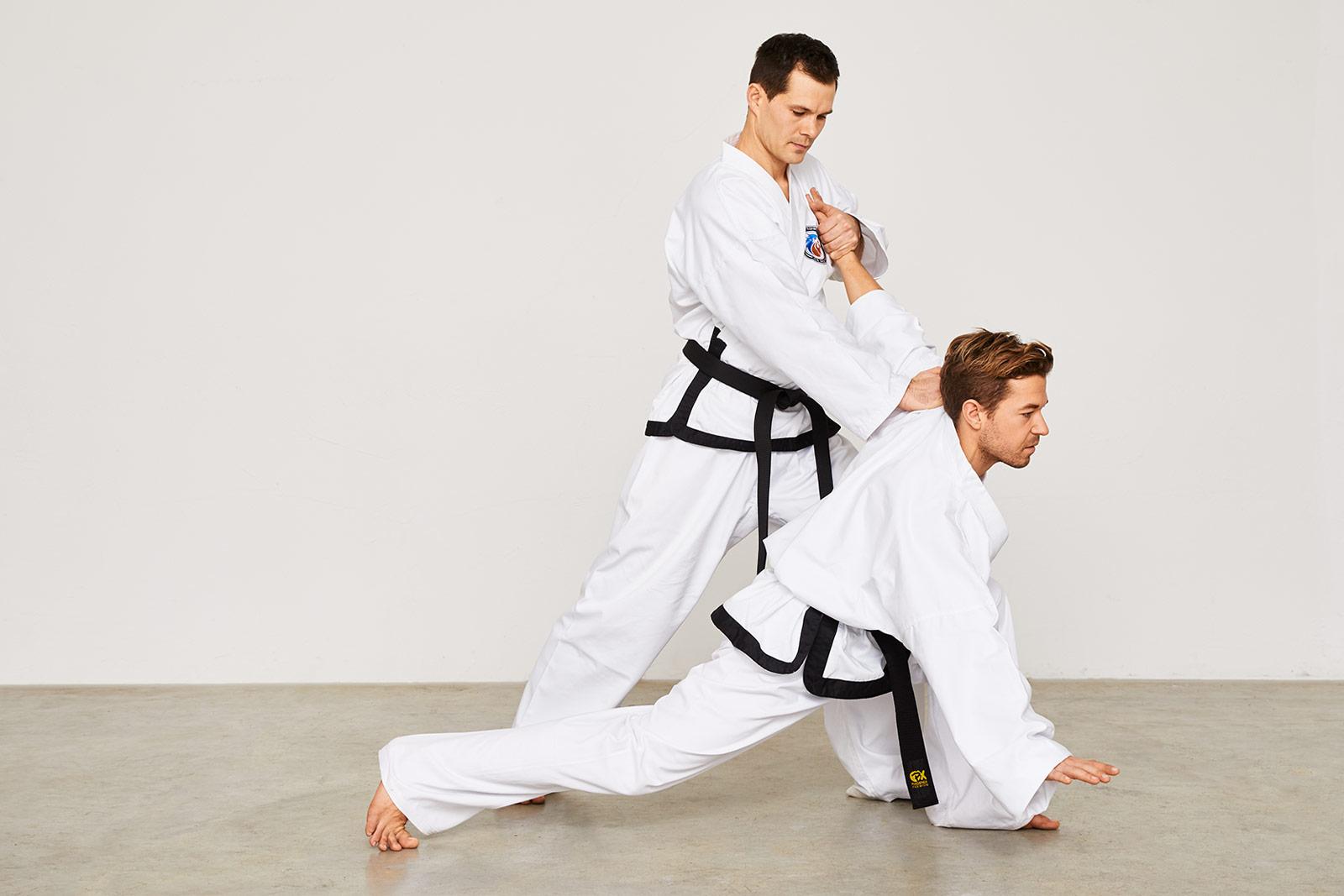 Taekwondo Selbstverteidigung Hosinsul