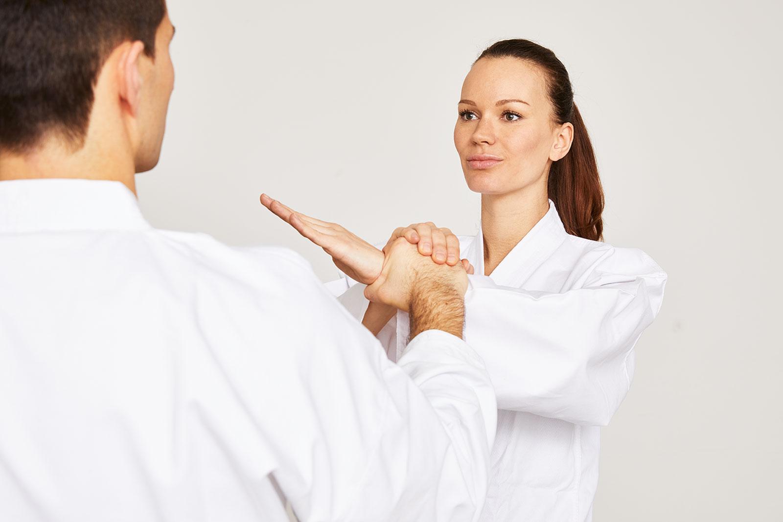 Taekwondo Griff- und Hebeltechnik