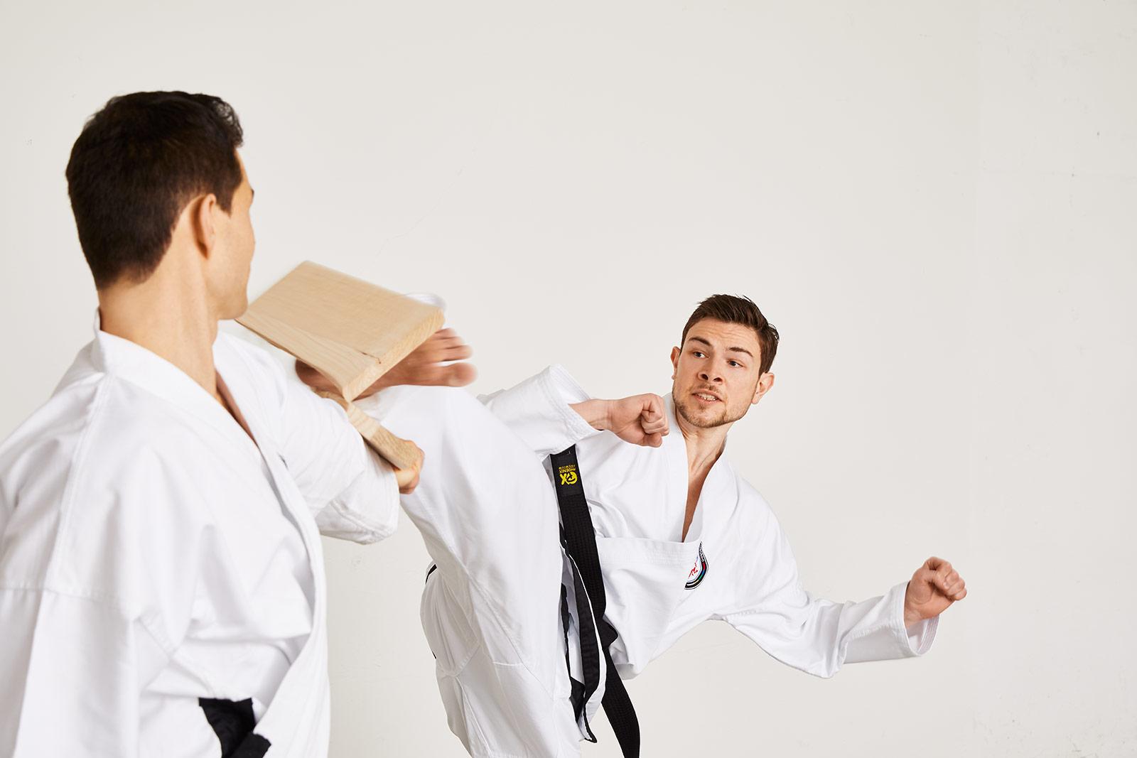 Taekwondo Bruchtest